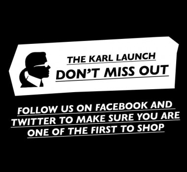 Karl Lagerfeld KARL launch