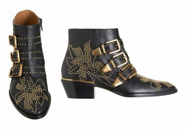 Chloe Studded leather ankle boot
