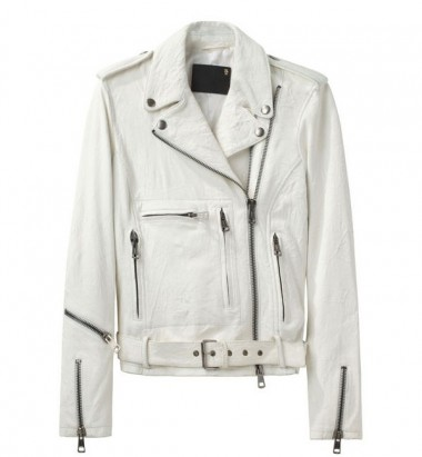 R13 Leather Moto Jacket