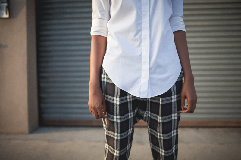 r13 plaid pants