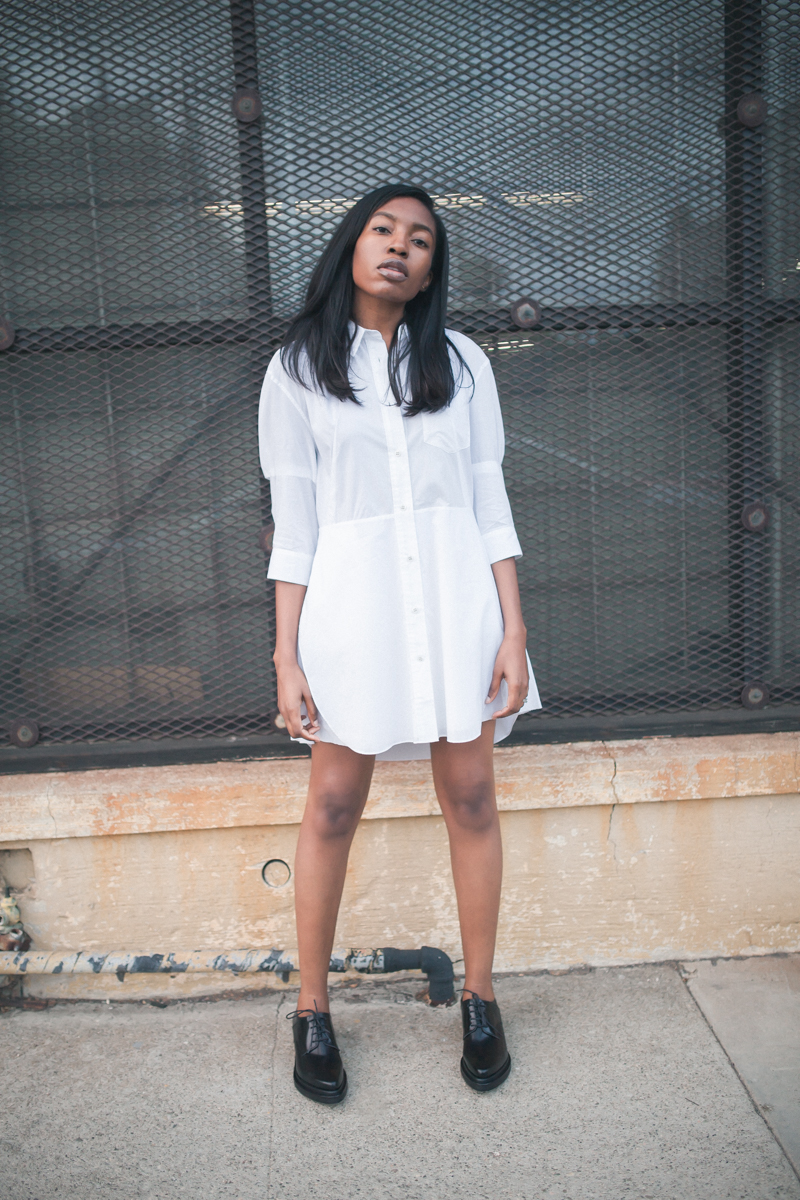 Acne Studios shirtdress